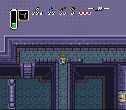 Legend of Zelda, The - A Link to the Past - a brave man - User Screenshot